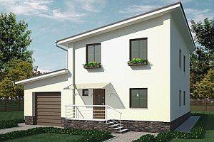 Дом с односкатной крышей проекты