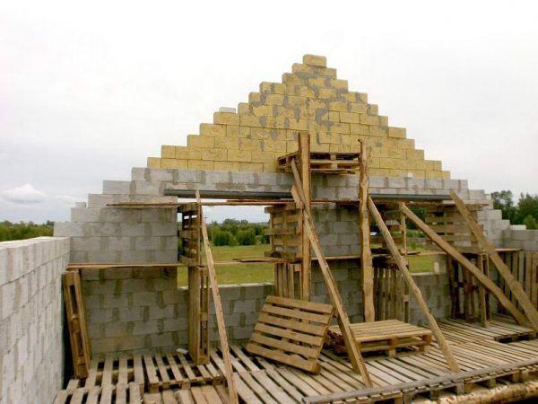 Стропильная система двухскатной крыши франтон способы завязывания
