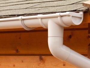 Слив для крыши пластиковый