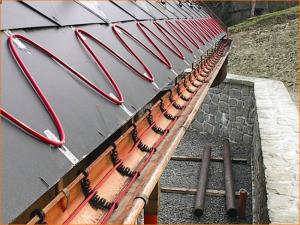 Устройство выбор принцип работы и монтаж греющего кабеля для водосточных труб