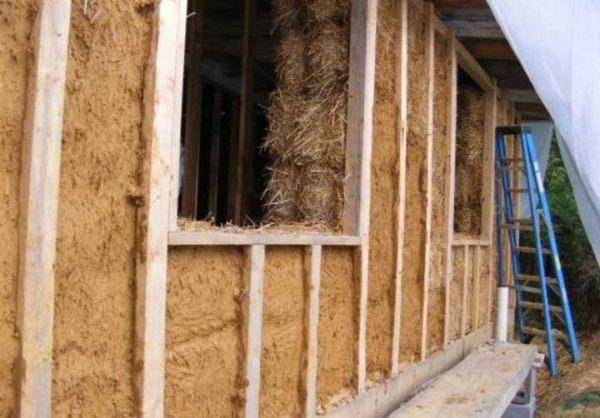 Опилки с цементом как утеплитель: эффективность, как использовать