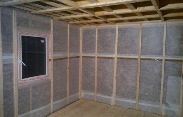 Утепление стен дома внутри под гипсокартоном
