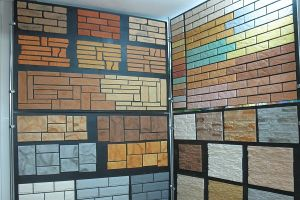 виды фасадных панелей из бетона
