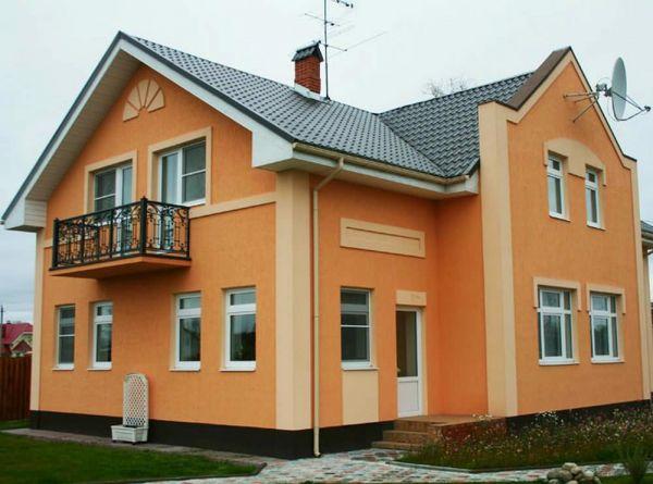 Как покрасить деревянный дом снаружи дизайн